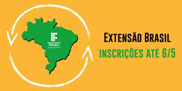 Projeto Extensão Brasil está com inscrições abertas para seleção de bolsistas
