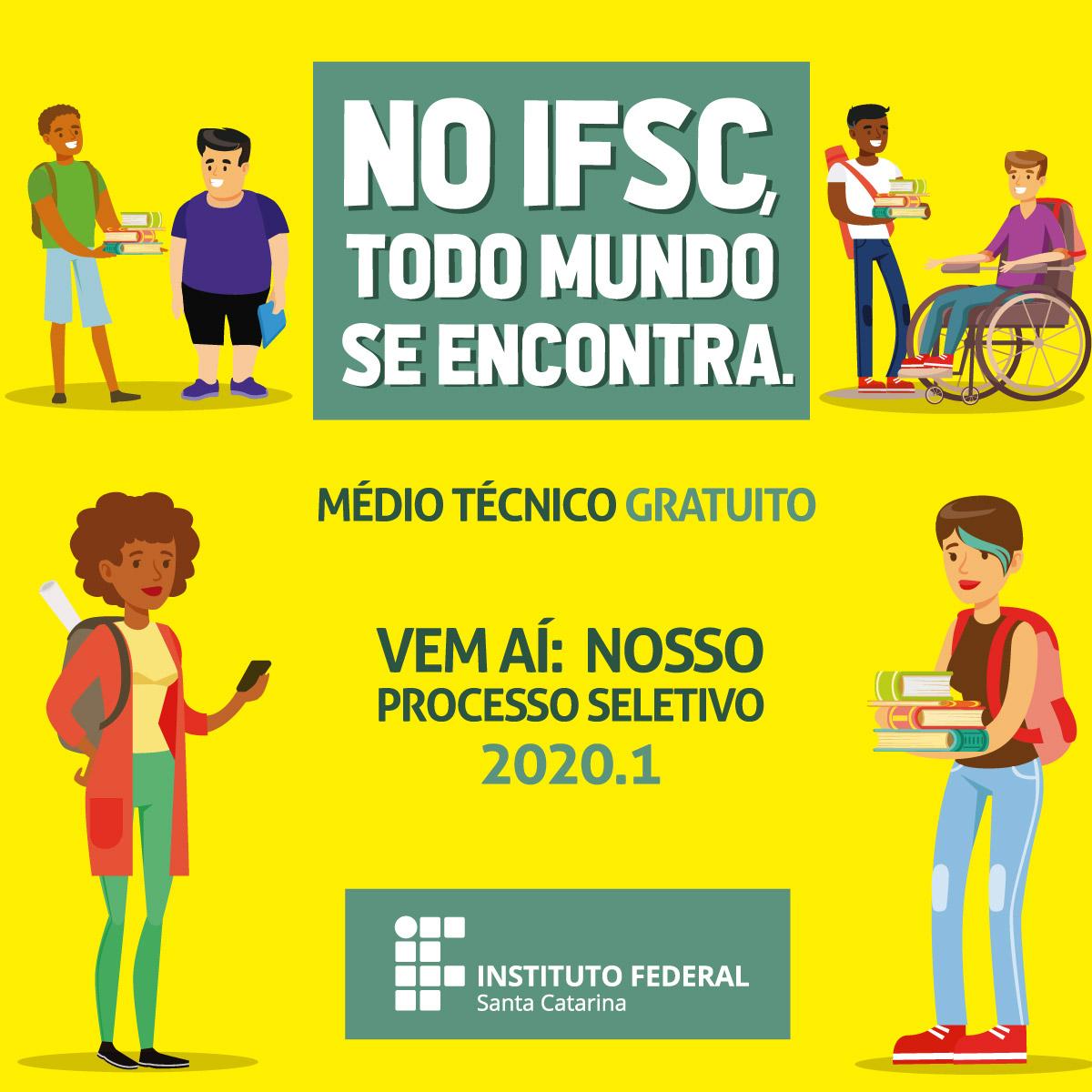 IFSC lança nova campanha de ingresso para 2020